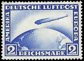 Germany - C36 - Tiny Spot on Stamp - MNH - SCV-240.00