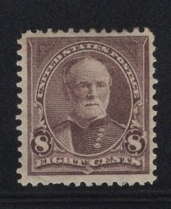 US Stamp Scott #272 Mint Previously Hinged SCV $70
