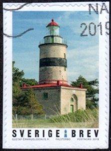 Sweden 2815a - Used - (9k) Falsterbo Lighthouse (2018) (cv $2.25)