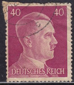 Germany 520 USED 1941 Adolf Hitler 40pf