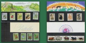 Lot of 4 Royal Mail British Fauna Presentation Packs.  Nos 126, 151, 160, 205