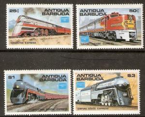 ANTIGUA SG1014/7 1986 AMERIPEX 86 MNH