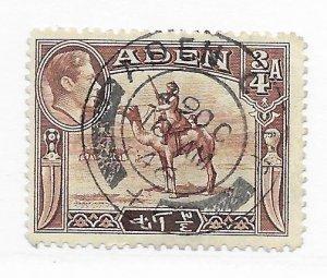 Aden #17 Used - Stamp - CAT VALUE $1.25