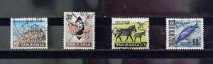 406   Tanzania   Used # 8, 9, 11, 25                         C.V. $ 2.00