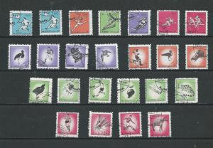 Ajman & Manama   24 Topical stamps Sports Birds Space Animals Olympics