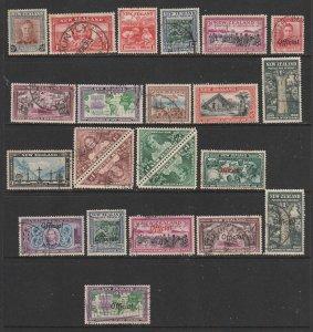 New Zealand a small used lot KGVI era