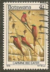Botswana     Scott  201     Birds    Used