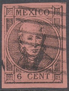 MEXICO  An old forgery of a classic stamp ..................................C817
