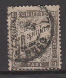 France Sc#J21 Used
