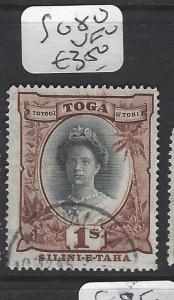 TONGA (P0605B)  1/-  SG 80  VFU