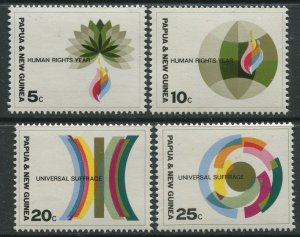STAMP STATION PERTH Papua New Guinea #261-264 Pictorial Definit MNH 1968 CV$1.10