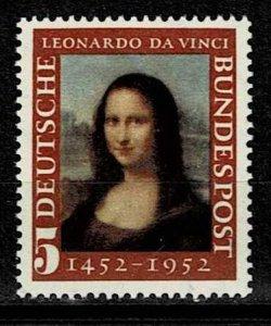 #687 MNH Mona Lisaan  cv 1,60 Euro