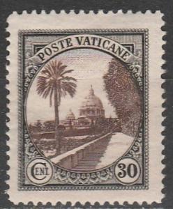 Vatican City #24  F-VF Unused  (S9776)