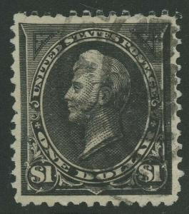 #276A $1 1895 XF+ USED GEM WITH PSAG CERT HW5222
