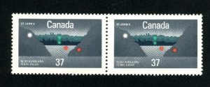 Can #1214   pair  used VF 1988 PD