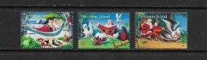 CHRISTMAS ISLAND #422-4  CHRISTMAS 1999  MNH