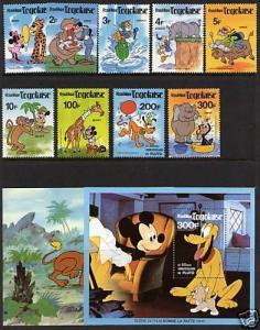 Togo 1064-72A MNH - Disney, Animals