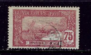 Guadeloupe 78 Used 1905 issue