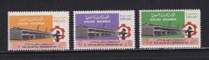 Saudi Arabia 618-620 Set MNH Steel Mill