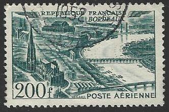 France #C24 Used Airmail Stamp (U1)