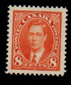 Canada Sc 236 1937 8 c George VI stamp mint NH