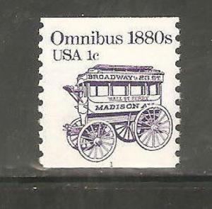 1897 Omnibus PNC Single (#1) Mint/nh FREE SHIPPING