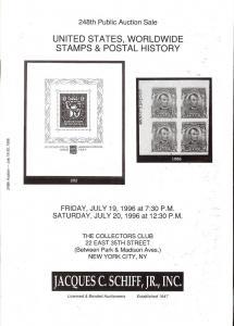 United States, Worldwide Stamps & Postal History, Schiff 248