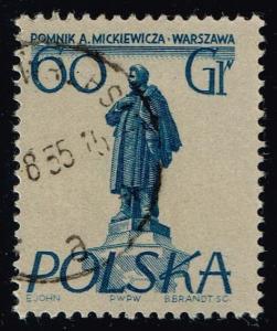 Poland #674 Adam Mickiewicz; Used (0.25)