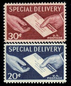 #E20-1 20c/30c Special Delivery.... NH -- FREE SHIPPING
