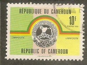 Cameroun    Scott 896   Soccer League    Used