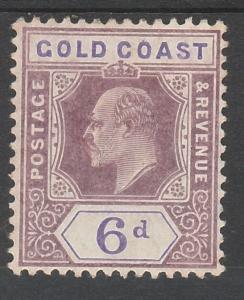 GOLD COAST 1904 KEVII 6D WMK MULTI CROWN CA