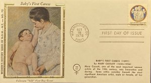 Women's History NOW NYC #75 Baby's First Caress by Mary Cassatt