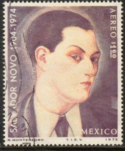 MEXICO C462 In Memoriam Salvador Novo, writer. Used. (592)