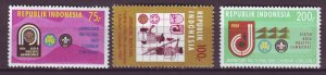 J25063 JLstamps 1981 indonesia set mnh #1112-4 scouts