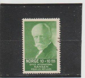 Norway  Scott#  B5  Used  (1935 Fridtjof Nansen)