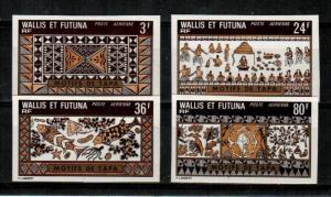 Wallis and Futuna Scott C56-9 Mint NH imperf (Catalog Value 40 Euros)