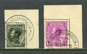 BELGIUM  SCOTT#B152/53    USED -SCOTT $33.00