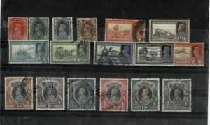 INDIA KG VI USED VALUES TO 25Rs CV £150 +