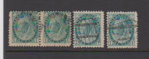 CANADA QUEEN VICTORIA -MAPLE LEAF ISSUE #67 STAMPS USED  LOT#310