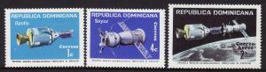 Dominican Republic #742-43, C230 F-VF Mint LH * Apollo Soyuz project