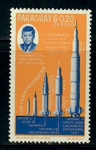 Paraguay #890 John F Kennedy MNH Single