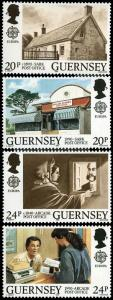 Great Britain-Guernsey 422-5 MNH - Europa 1990