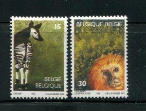 Belgium #1470-1 MNH