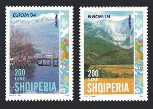 Albania Europa CEPT Holidays 2v 2004 MNH SG#2992-2993 MI#2966-2967 KB