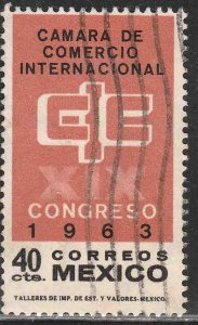 MEXICO 933, Int Chamber of Commerce Congress Used. VF. (1118)