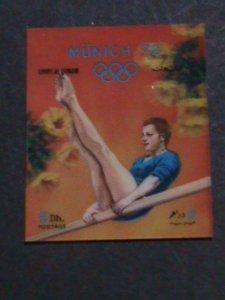 UM-AL QIWAIN STAMP-1972- OLYMPIC GAME MUNICH'72 - AIRMAIL- 3-D STAMP MNH #9