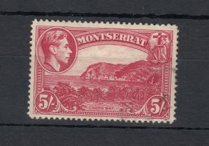 Montserrat KGVI 1938 5/- SG110 MH J5331