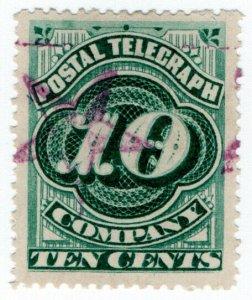 (I.B) USA Telegraphs : Postal Telegraph 10c