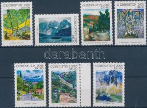 Uzbekistan stamp Paintings set MNH 2006 Mi 585-591 WS202335