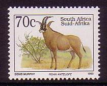 South Africa Roan Antelope issue 1997 SG#813c